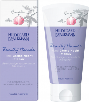 Hildegard Braukmann Beauty for Hands - Hand Creme Nacht intensiv 75 ml