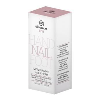 Alessandro SPA Moistuirizing Nail Cream 15ml Hyaluronic Acid & Shea Butter Nagelcreme 15 ml