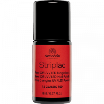 Alessandro Striplac 112 Classic Red 8 ml